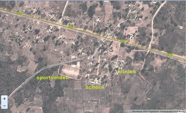 plattegrond chivombo